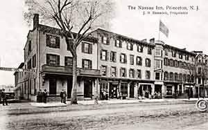 The Nassau Inn, J.B. Renwick, Prop. -- Vintage postcard, Princeton NJ
