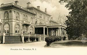 Princeton Inn -- Vintage postcard, Princeton NJ