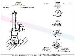 Product photo #100_0101 of SKU 21001150 (C. Perkes, circa 1900, Antique Bronze Bilge Hand Pump)