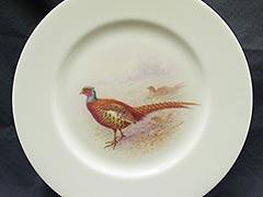 Lenox c.1921 W.H. Morley, Col. Kuser Pheasant Dinner Plate