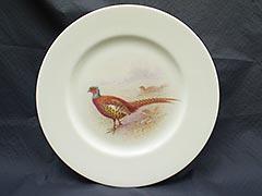 Product photo #100_2465 of SKU 21001105 (William H. Morley Lenox 1920s Kuser Pheasant Dinner Plate)