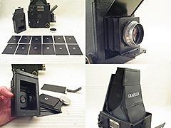 Graflex RB Series B 2x3 Camera, Lens, Magazine/Septums